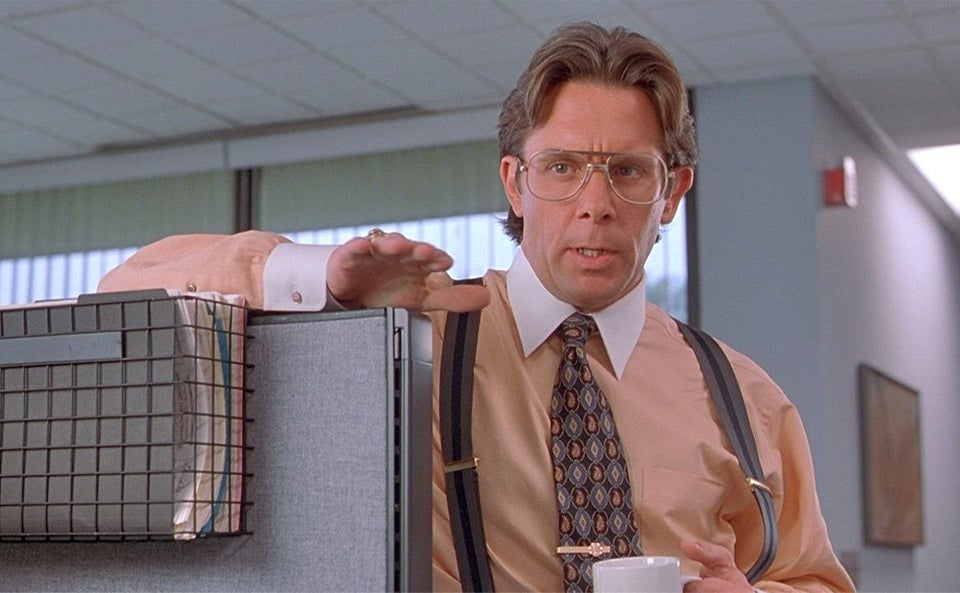 Bill Lumbergh from the Office Space movie